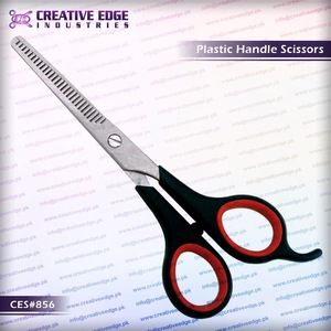 2015 New Thinning Plastic handle Barber Hairdressing Scissors/shears CES 862