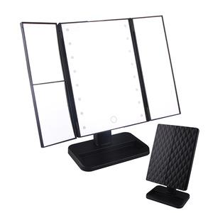 2019 New design led makeup mirror square light makeup mirror