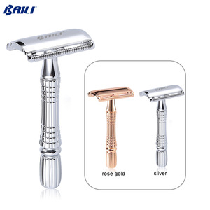 Baili Best Razor Blade Private Label Branded Double Edge Safety Razor and Blade