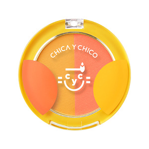 CHICA Y CHICO BEAUTY BLOOM 2 COLORS CHEEK BLUSHER