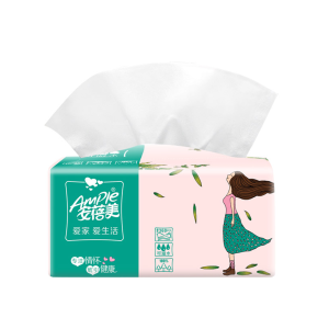Factory Customize 1-3ply Virgin Pulp Printed Soft Pack Tissue Paper Face Tissue Facial Tissue Paper