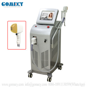 GOMECY CE approved Germany bar Low Price Medical Painless Ice Unhairing 755 808 810 1064 Nm Diode Laser Hair Removal Machine
