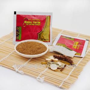 guangzhou white home foot care powder soak bama herbs bath foot bath powder