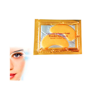 HODAF OEM Cosmetic 24k Gold Collagen Crystal Eye Patch Pad Eye Mask for Anti Aging, Anti Wrinkle made in China