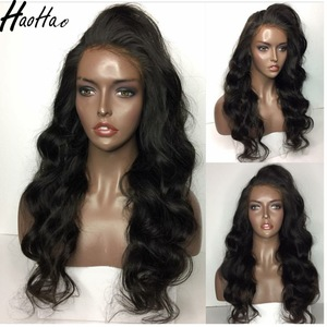 "Large stocks 8""-24"" natural color hotsale indian lace front human hair wig for black women"