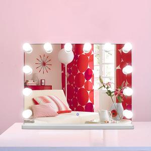 Modern Luxury Home Decor LED Bulb Makeup Vanity Hollywood Mirror