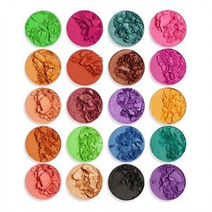 OEM Private Label No Name 35 Color Makeup Palette Eyeshadow High Quality Eye Shadow