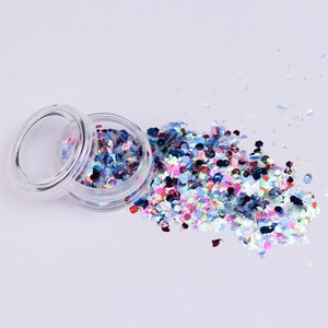 Party Used DIY body decoration Chunky Glitter and Gel Set