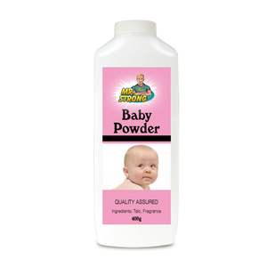 Personal care free samples baby powder