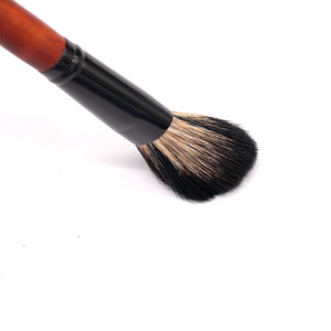 Private Label Makeup Tools Single facial Make Up Brush goat Natural Hair Cosmetic blush Brush shaving brush
