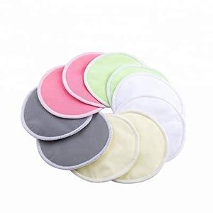 Reusable Washable Soft Super absorbent Leak-proof Organic Bamboo Nursing Pads