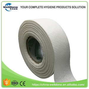 SAP Fluff Pulp Airlair Paper Sheet Super Absorbent Core Paper for Sanitary Pad