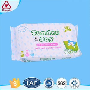 September air soft raw material organic baby wet wipes