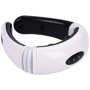 Trending 2020 new portable electric neck massager pain relief care cervical massager wireless intelligent neck massager
