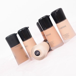 VERONNI Full Coverage Make Up Fluid Concealer Whitening Moisturizer Oil Control Waterproof Makeup Liquid Foundation
