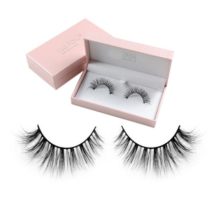 Wholesale private label false strip eyelashes packaging real eyelash extensions mink lashes 25mm fashion make up tools