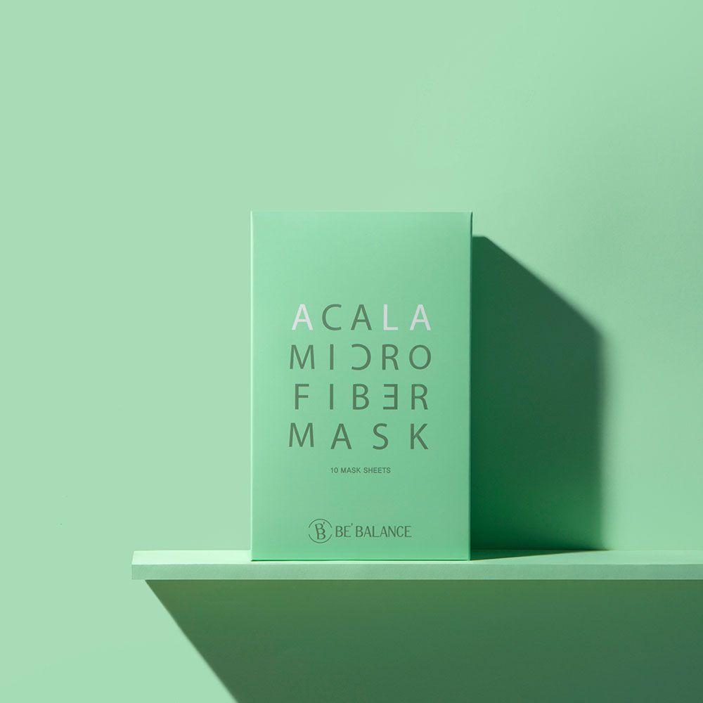 ACALA MIRCO FIBER MASK (Premium 3 Step Mask for Oily & Acne Care)