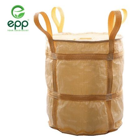 High quality 100% virgin PP woven FIBC bag super sacks bulk container bags ventilated mesh big bag 1 ton big bag PP woven sacks baffle Q big bag sling jumbo bag 1000kg jumbo bags
