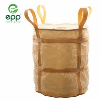 High quality 100% virgin PP woven FIBC bag super sacks bulk container bags ventilated mesh big bag 1 ton big bag PP woven sacks baffle Q big bag sling jumbo bag 1000kg jumbo bags
