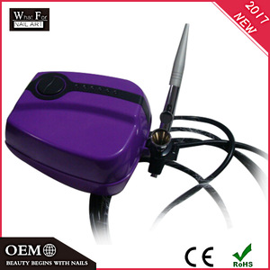 2017 Dual Action Airbrush for cake makeup tattoo art Gravity