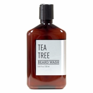 2017 Hot Sell ! Amazon Direct OEM Factory Manufacture Organic Tea Tree Beard Shampoo and Beard Wash