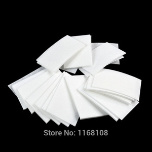55 Lint Soft Wipes Nail Art Wipes Clean Paper Cotton Pads Polish Remover Make-up Nail Art Hot Selling