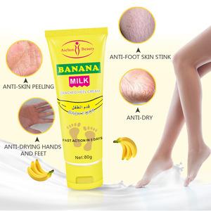Aichun Beauty Milk Repair Anti Crack Whitening Foot Peeling Cracked Hands Feet Dry Skin Moisturizing Crack Heel Care Foot Cream