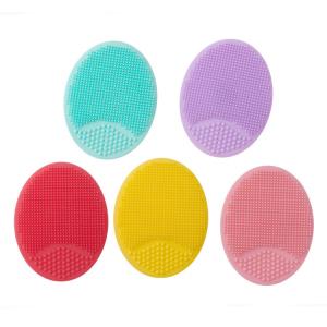 Baby silicone bath rubbing massage brush baby silicone bath brush baby shampoo face wash brush children bath care supplies