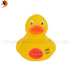Factory supply floating manufacture vinyl plastic duck baby  bath toy