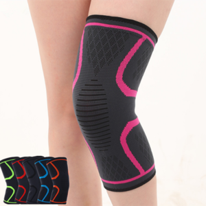 FREE SAMPLE sports safety anti slip compression knee support for hiking jogging