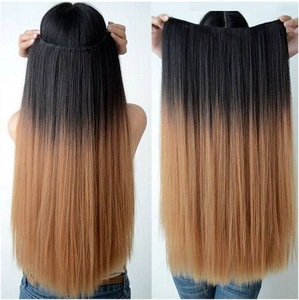 High quality thick bohemian remy human hair extension , wholesale fashion virgin halo hair extension
