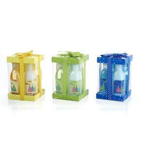 Hot Selling Wholesale Oem Fragrance Body Lotion Shower Gel Gorgeous Bath Gift Box Set