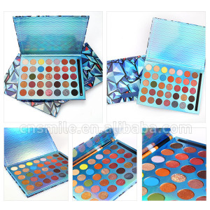 L96  Custom glitter  eye shadow make your own brand high pigment makeup eyeshadow palette