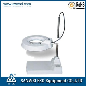 LED magnifying inspection lamp with 3D 5D 8D