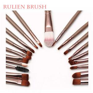 Makeup Brushes/Wood Handle Makeup Brush Set/Custom Logo Make Up Brushes