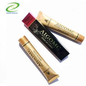 modified skin covering tattoo liquid whitening foundation small gold tube makeup concealer