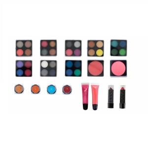 New Branded Girl Aluminium Case Makeup Kit Beauty Cosmetic Box Full MakeUp Cosmetics Set
