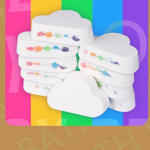Rainbow Effect Moisturizing Bath Effect for Lady and Baby, Organic Bath Fizzies