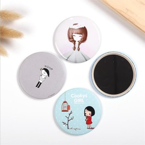 Small Pocket Mirror Personalized Custom Compact Makeup Mirror with Logo