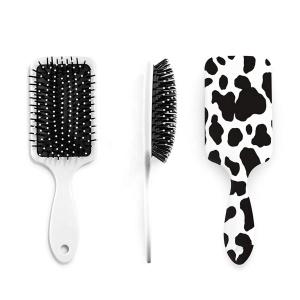 Yaeshii Hot Selling Women Anti-static Hair Scalp Massage Comb Nylon Curly Detangle Hair Brush  Hairdressing Styling brush