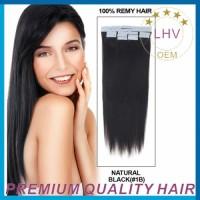 100% virgin brazilian hair skin weft pu glue virgin tape hair extensions,invisible tape hair extensions ,tape in hair extensions