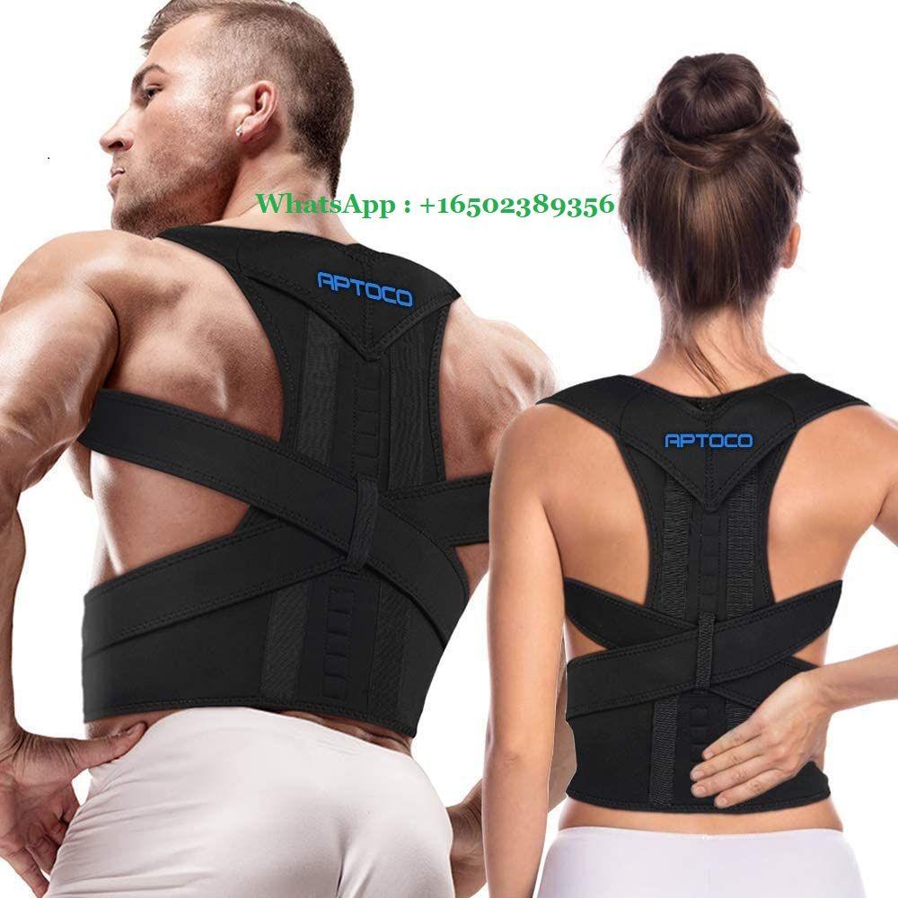 Full Back Support Posture Corrector for Men and Women- Adjustable Medical Posture Brace Provides Lumbar & Back Support for Shoulder, Clavicle, Lower and Upper Back Pain Kyphosis