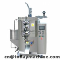 Liquid Packaging Machine sealing and cutting jelly