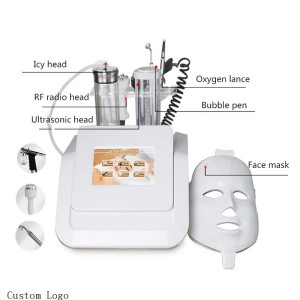 2021 new product Best selling skin rejuvenation oxygen facial co2 bubble rf face beauty machine oxygen infusion facial machine