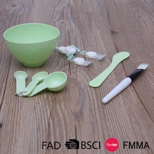 4Pcs Diy Makeup Set For Girls Women Include Mask Bowl Stick Brush Compression Mask