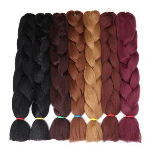 Crochet Braids hair extensions Synthetic braiding hair