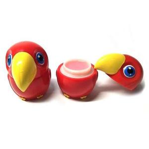 Cute animal shape lip balm container moisturizing  lip balm