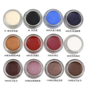 Low moq private label eyebrow & eyeliner gel waterproof gel liner eyeliner