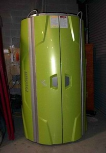New 2008 V5 STAND UP tanning bed