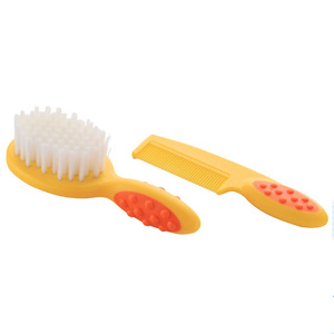 New design baby hair brush and comb set for sale